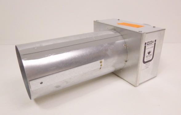 Helios Brandschutz-Deckenschott ELS-D 125 Ventilatoren Neu – Bild 1