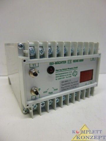 Wenglorz Iso-8000 Iso-Wächter Iso Wächter Isolationsüberwachung