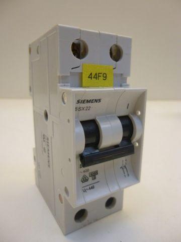 Siemens 5 SX 22 B16 Leitungsschutzschalter Schutzschalter Schalter 5SX22 – Bild 1