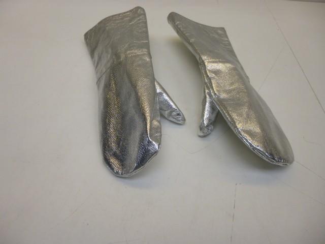 Hitzeschutz Feuerschutz Handschuhe Feuerschutzhandschuhe Fäustlinge – Bild 1