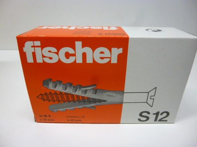 4 x 25 Fischer S12 Nylondübel Dübel – Bild 5
