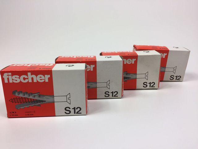 4 x 25 Fischer S12 Nylondübel Dübel – Bild 1
