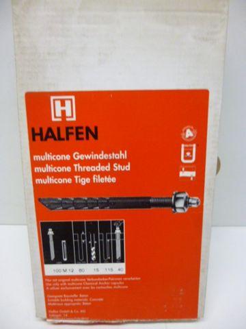 Halfen MV 100 M 12/60 multicone Gewindestahl Gewindestange – Bild 1