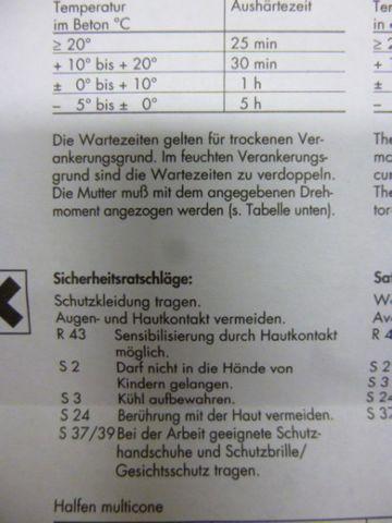 Halfen MV 100 M 12/60 multicone Gewindestahl Gewindestange – Bild 8