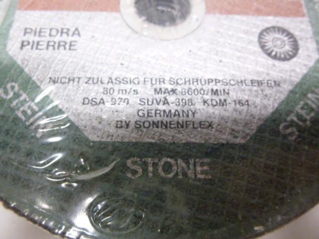 Sonnenflex C24S4BF Trennscheibe Flexscheibe 25 Stück Stein 180mm – Bild 3