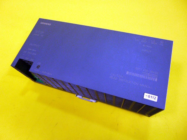 Siemens Sitop 6EP1436-2BA00 power 20 6EP1 436-2BA00 Stromversorgung POWER SUPPLY