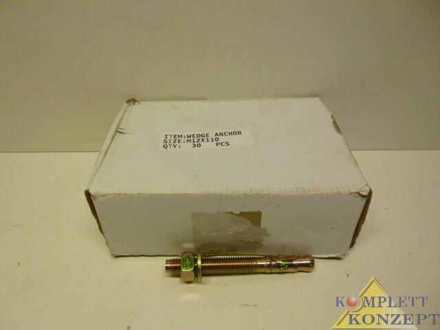 M12x110 Bolzenanker Anker Schwerlastanker 30 Stück – Bild 1