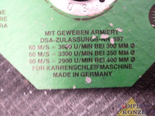 8 Stück Sonnenflex C20 RB Fugenschneidscheibe Trennscheibe Asphalt Beton 350mm Ø – Bild 2