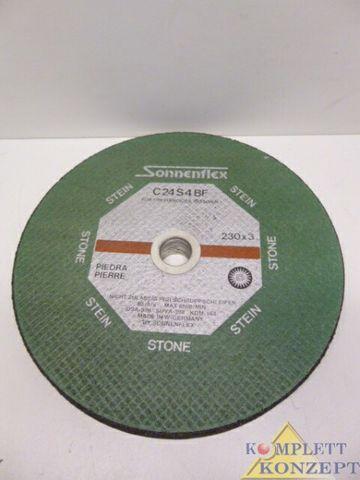 Sonnenflex C24S4BF 230x3 Trennscheibe Flexscheibe 7 Stück Stein – Bild 1