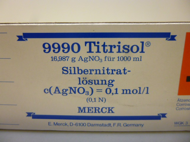MERCK 9990 Titrisol 1000ml Pufferlösung  Buffer solution pH 13.00 – Bild 1