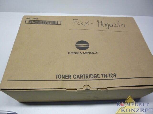 Konika Minolta Toner TN 109 9961000251 – Bild 1