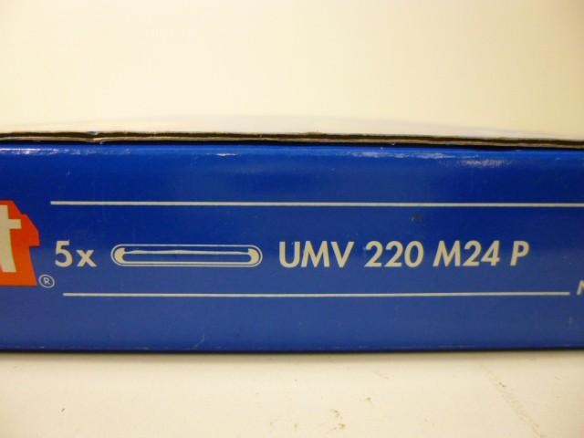 Upat Verbundanker Patrone Klebedübel UMV 220 M24 P - multicone 220 - Ø28 – Bild 2