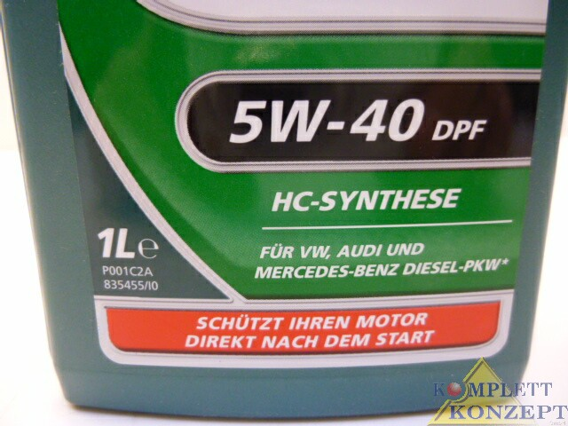 Castrol Magnatec Diesel Motoröl 5W-40dpf Öl 1 Liter – Bild 2