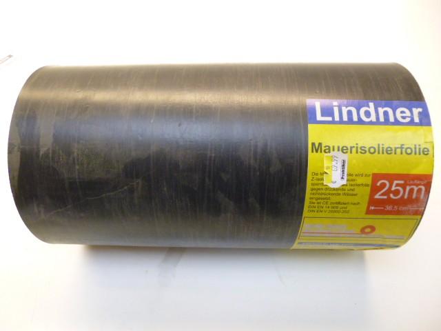 Lindner Mauer Isolierfolie Mauerisolierfolie 25m x 36,5 cm (6,56€/m²) – Bild 1