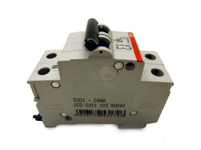 ABB S201-NA C4 Sicherungsautomat 2CDS251103R0165 – Bild 2