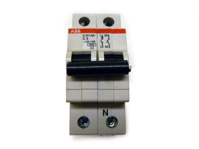ABB S201-NA C4 Sicherungsautomat 2CDS251103R0165 – Bild 3