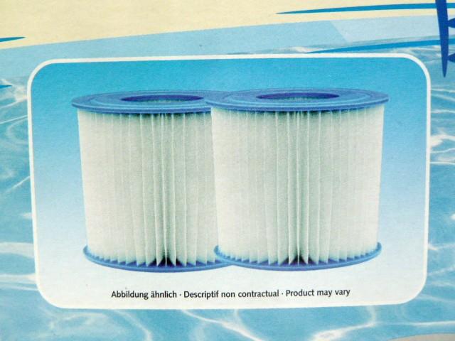 2er Set Cristal Kartuschenfilter Filter Reinigungsfilter Poolfilter Poolreinigung Pool – Bild 3