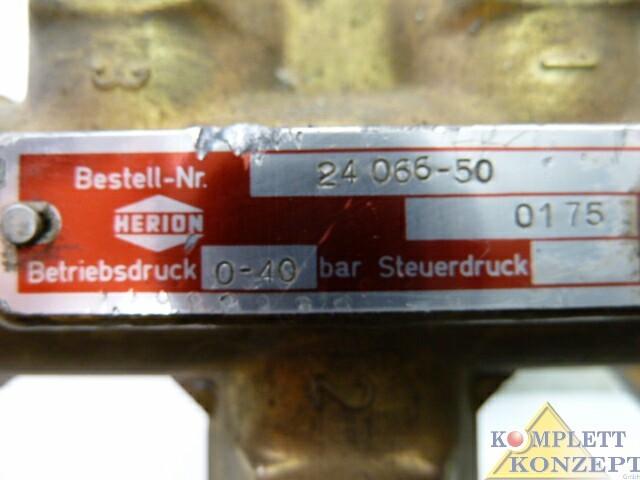 Herion Magnetventil Ventil 220V 50 Hz – Bild 4