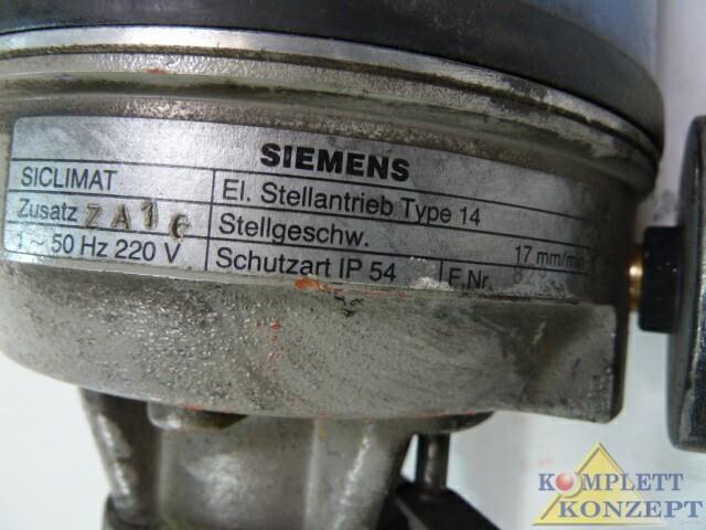 Siemens Siclimat VM1612 6FL2200-2DM20-1AA1 Zweiwegeventil Stellantrieb – Bild 4