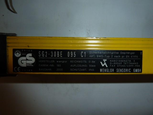 Wenglor Sicherheits Lichtgitter SG2-30BS 095 C1 – Bild 1