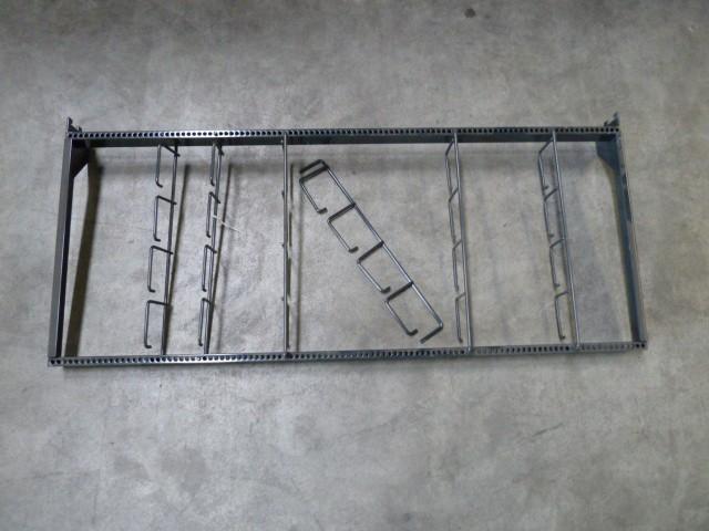 Tegometall Einhängregal Blisterregal für Hängewaren 132x54cm