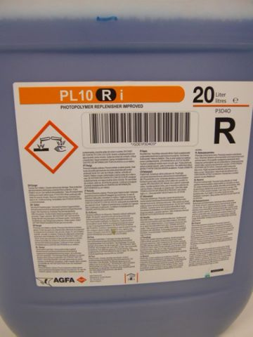Agfa PL10 Ri Photopolymer Replenisher Improved 20 Liter Photo Polymer – Bild 2