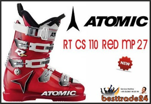 Atomic RT CS 110 RED Skischuhe Skiboots Skistiefel MP 27 EU 42 Neu
