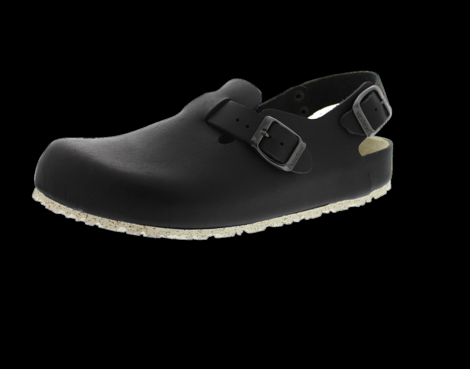 Küchen-Clog Vollrindleder Schuhweite normal