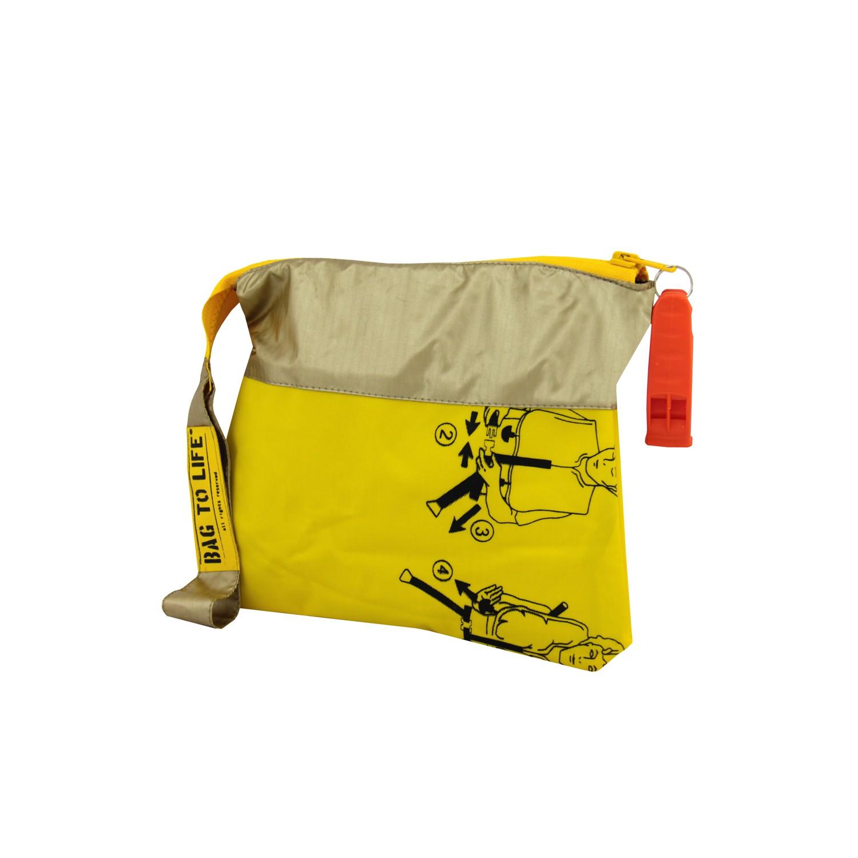 BAG TO LIFE Amenity Kit, golden, Kosmetiktasche