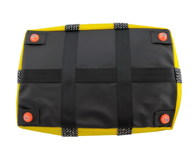 BAG TO LIFE Weekender Black Reisetasche Shopper Upcycling einer Rettungsweste