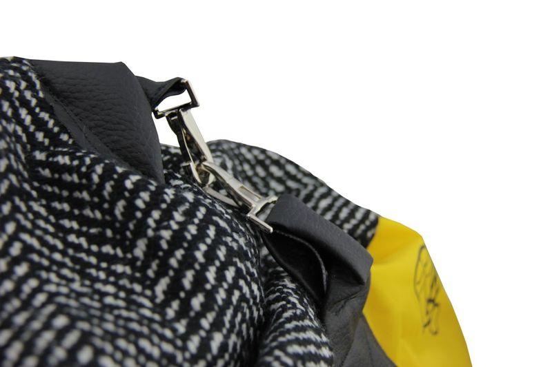BAG TO LIFE Weekender Black Reisetasche Shopper UNIKAT Upcycling aus einer Rettungsweste – Bild 3
