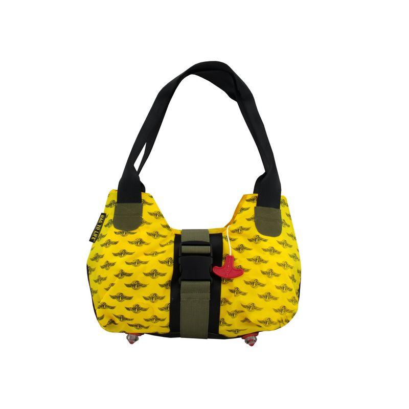 BAG TO LIFE Handtasche Upgrade Ladies Bag UNIKAT Upcycling aus einer Rettungsweste – Bild 2