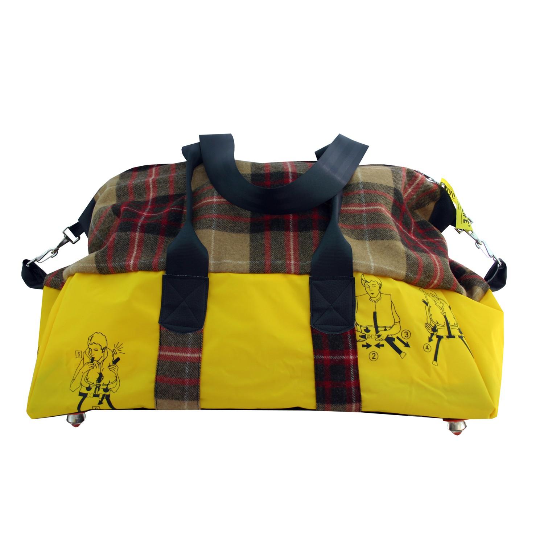 BAG TO LIFE Weekender Reisetasche Shopper UNIKAT Upcycling aus einer Rettungsweste