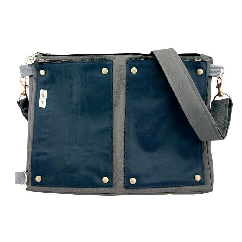 BAG TO LIFE Lufthansa Kollektion Business Class Multifunctional-Bag Messengerbag Schultertasche  – Bild 5
