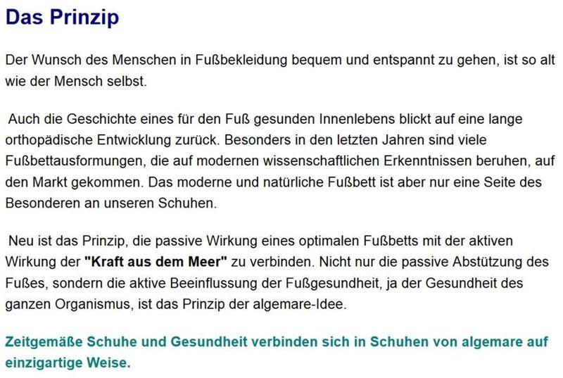 "Algemare Damen Leder Pantolette ""Mineral Steel"" Keilpantolette mit Algen-Kork Wechselfußbett Made in Germany 1447_9926 – Bild 7"