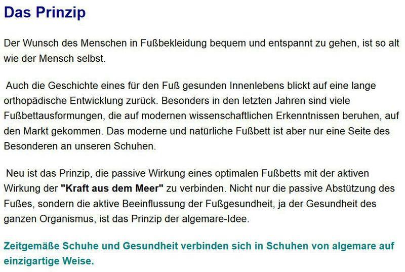 "Algemare Damen Sandalette ""Nappino Perla"" Keilsandalette mit Algen-Kork Wechselfußbett Made in Germany 2317_3884 – Bild 7"