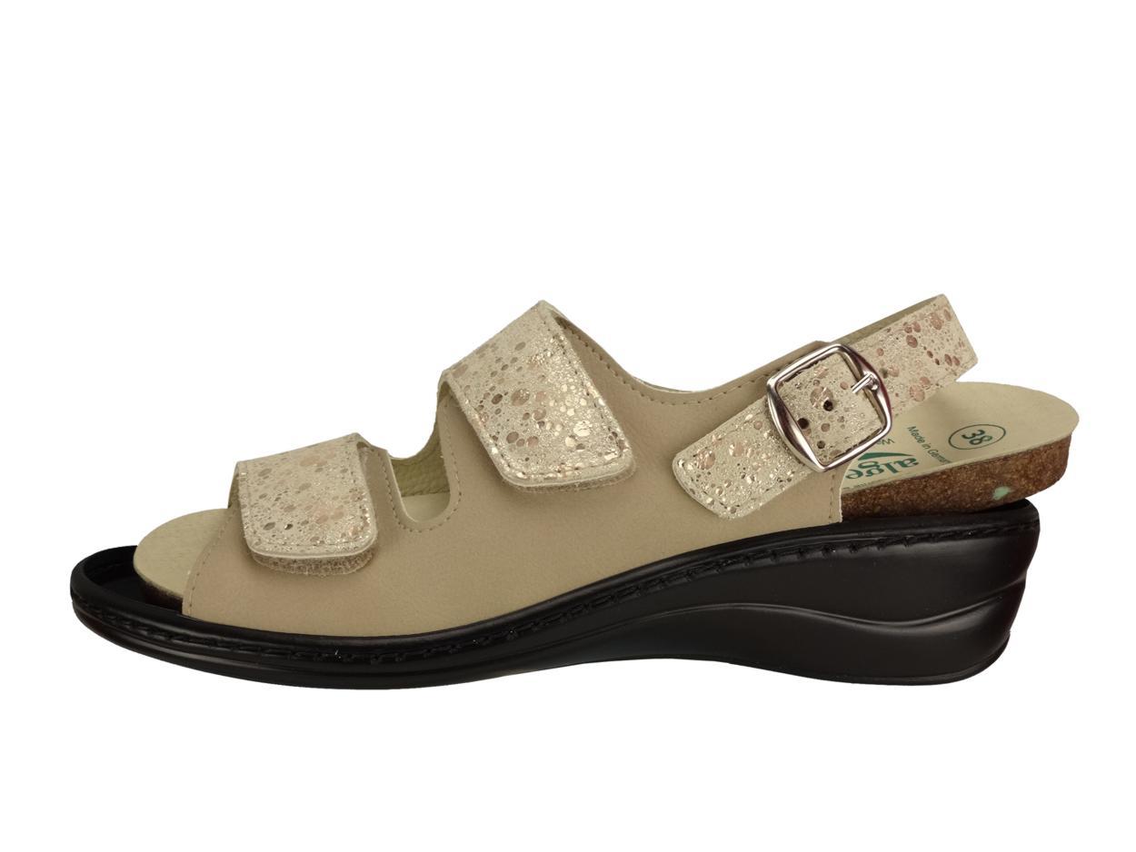 Algemare Damen Sommer Sandalette