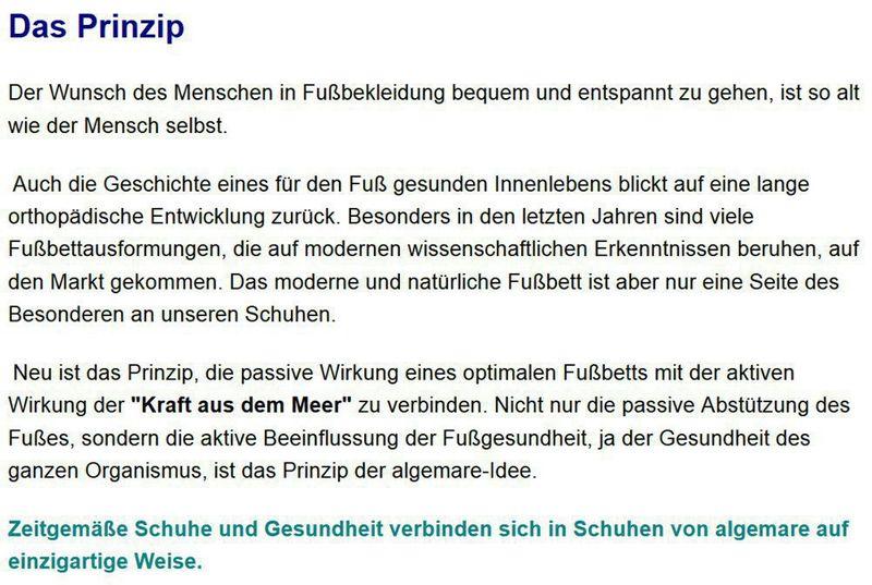 """Algemare Damen Sandalette """"Lamino"""" Keilsandalette mit Algen-Kork Wechselfußbett Made in Germany 2479_3933 – Bild 8"""