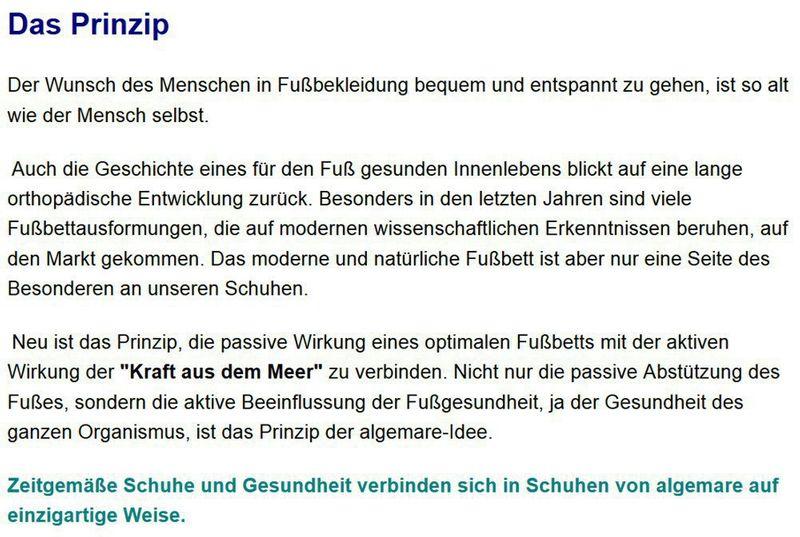 Algemare Pantolette Ozean Nubuk Algen-Kork Wechselfußbett Herstellung in Deutschland 7388_8788 – Bild 5
