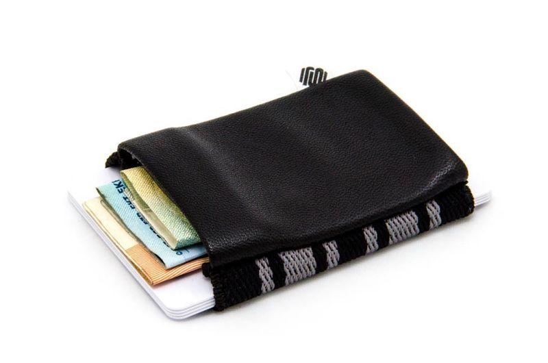 Space Wallet Designer Geldbeutel Mini Portemonnaie Geldbörse klassisches Band – Bild 2