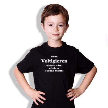 """T-Shirt """"Wenn Voltigieren einfach wäre ..."""" Motiv in verschiedenen Farben wählbar – Bild 1"""