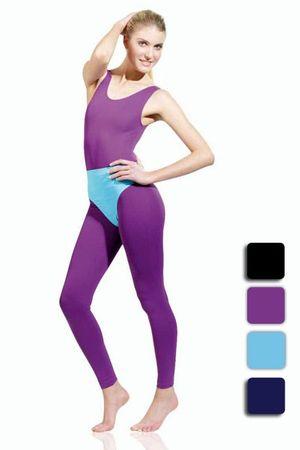 Overall / Ganzanzug, ohne Arm, ovaler Ausschnitt