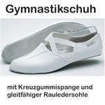 Bleyer Gymnastikschuhe mit Rauledersohle und Kreuzgummi, Modell 610