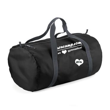 Ultraleichte schwarze Sporttasche (50x30x26cm)