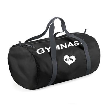 Ultraleichte schwarze Sporttasche GYMNAST