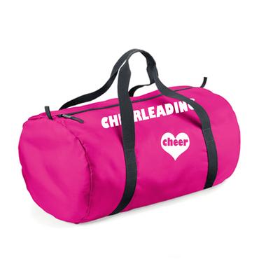 Ultraleichte fuchsiafarbene Sporttasche CHEERLEADING