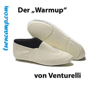 Venturelli Turnschläppchen / Gymnastikschuhe / Kunstturnschuhe »WARMUP«