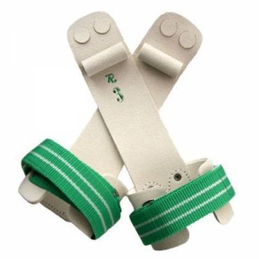 2-Loch Ringeriemchen, Turnriemchen für Ringe mit Rolle und Klettverschluss – Bild 1