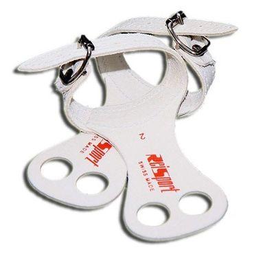 Turnriemchen / Reckriemchen, Handschutzleder mit Schnalle