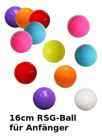 Pastorelli RSG-Ball orange, 16cm – Bild 2